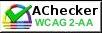 AChecker banner
